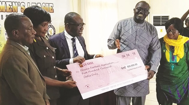 FreshPak signs GH¢ 500,000 for two years as headline sponsor for National Women's League