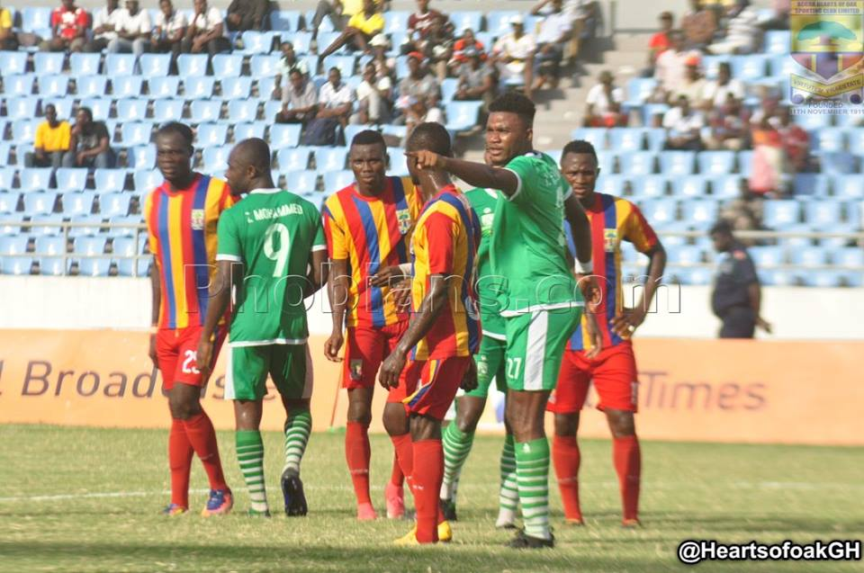 VIDEO: Watch how Elmina Sharks destroyed Hearts of Oak 2-1 in Cape Coast