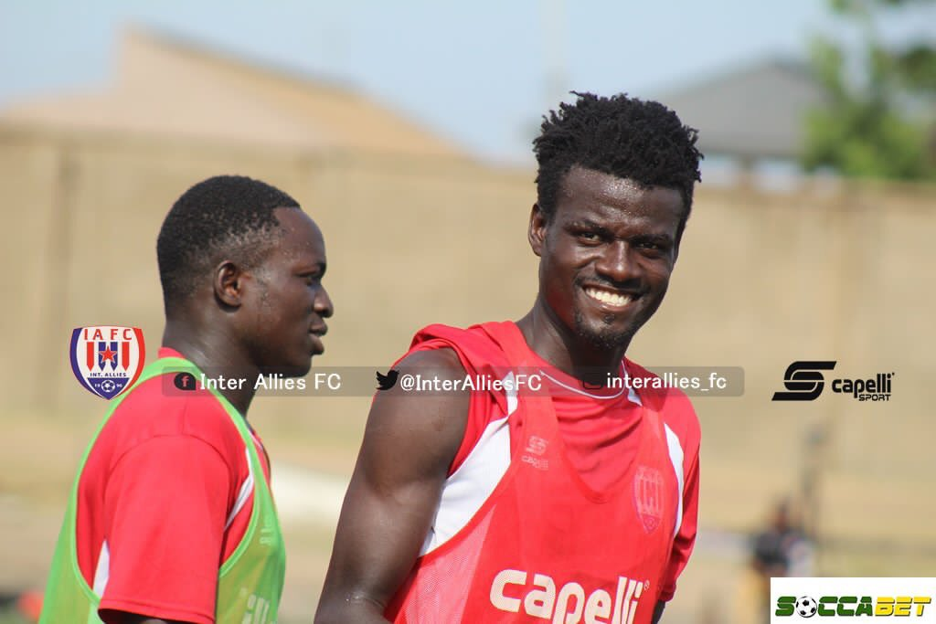 Inter Allies captain Hashmin Musah tasks club's strikers to bang in more goals
