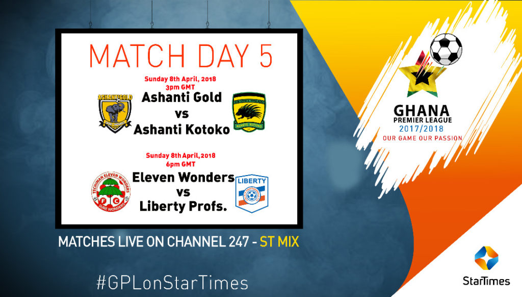 Startimes raises bar with 4 LIVE matches for the first time in Ghana Premier League coverage