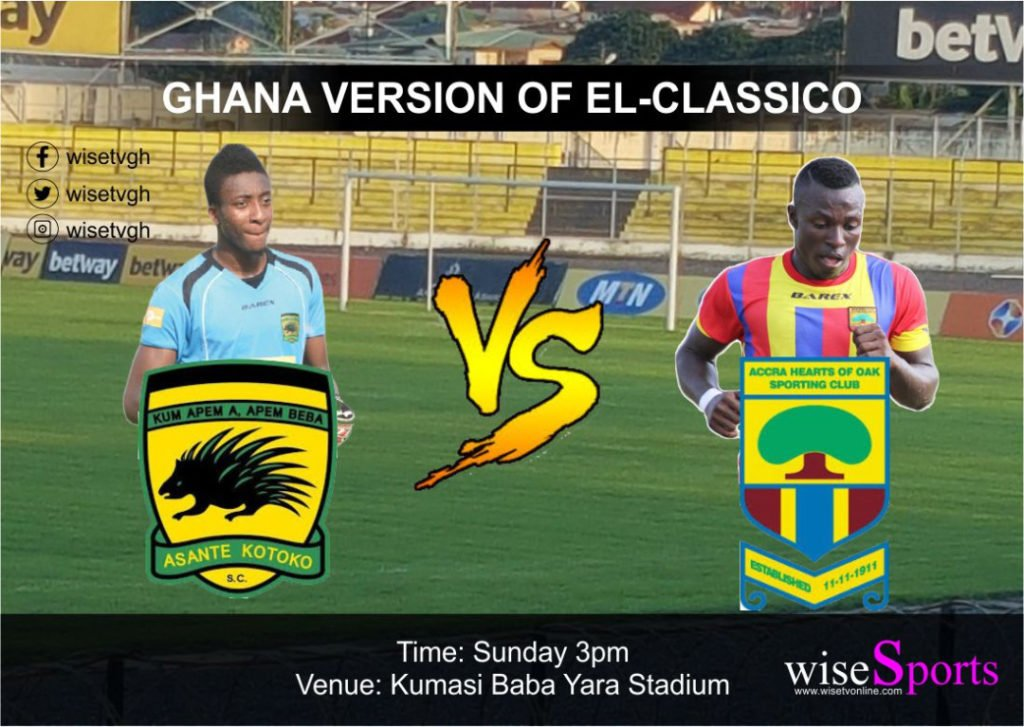 RE-LIVE: Asante Kotoko 0-1 Hearts of Oak - 2017/18 Ghana Premier League
