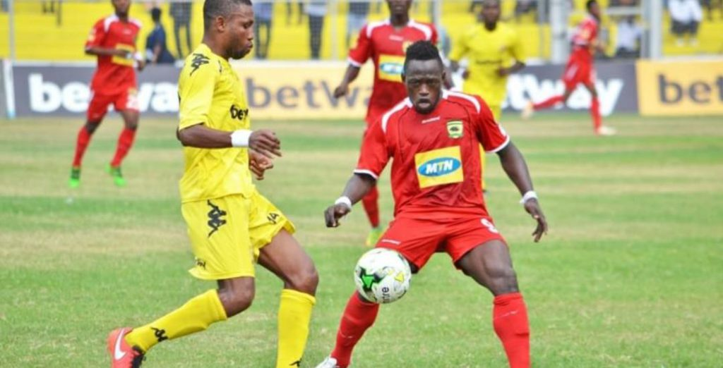 LIVE: AshGold 2-0 Asante Kotoko and updates from other league centers - 2017/18 Ghana Premier League