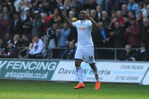 Jordan Ayew nominated for Swansea City Supporters' Player of the Season award