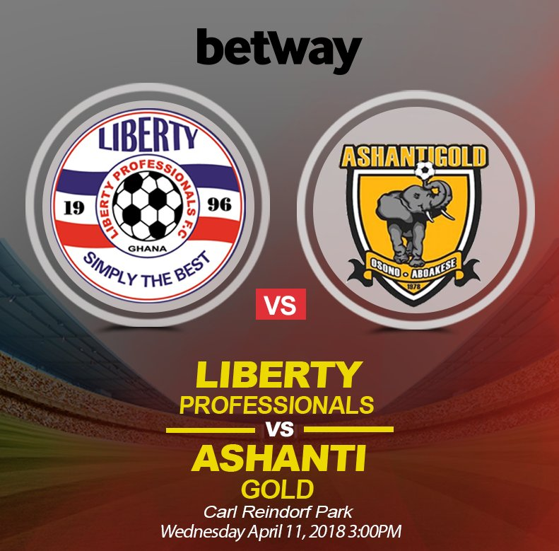 RE-LIVE: Liberty Professionals - AshGold and updates from other league matches - 2017/18 Ghana Premier League