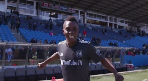 VIDEO: Substitute Latif Blessing scores late as Los Angeles FC come from three-nil down to win 5-3 at Montreal Impact