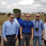 Hearts of Oak MD Mark Noonan visits Pobiman with architects