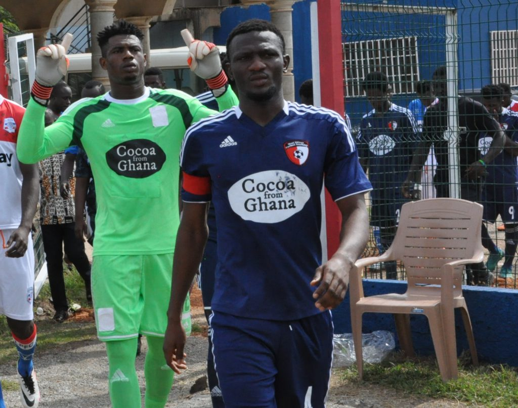 WAFA captain Mohammed Alhassan laments poor officiating in Wa All Stars draw