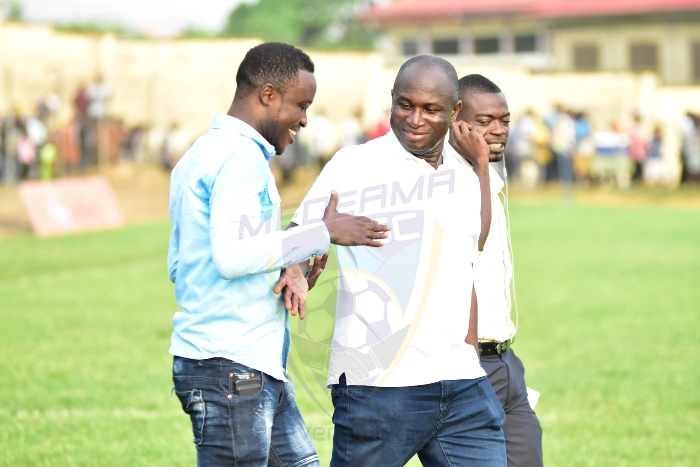 SHOCKER: NSA ORDERS Medeama to stop financial investment at home ground, wants stadia to rot