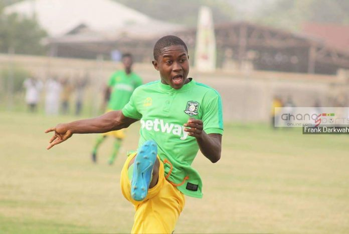 Talent Tavern: 14-year-old Aduana Stars midfielder Gideon Obeng Kyeremeh is youngest ever to play in Ghana Premier League