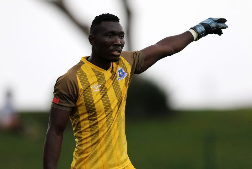 Maritzburg United goalkeeper Richard Ofori lavishes praises on teammates after Orlando Pirates draw