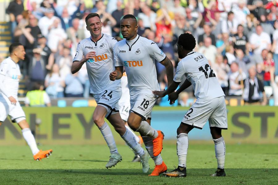 Jordan Ayew wins Man of the Match in Swansea City draw with Everton