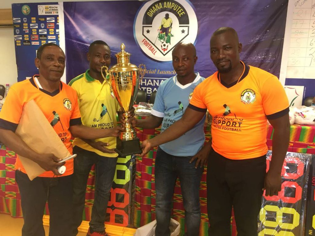 Ghana Amputee Football League launched