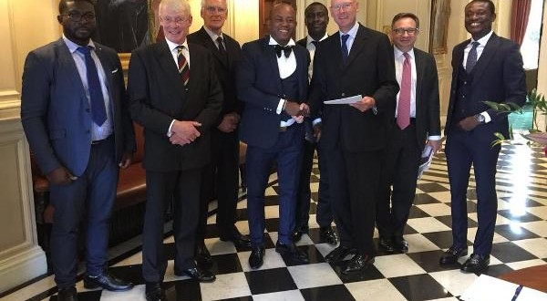Asamoah Gyan signs business deal with top UK investment company