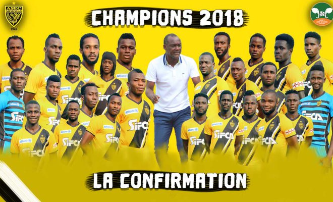 2018 CAF Confederation Cup: Aduana Stars opponents ASEC Mimosas win Ivorian Ligue 1 title