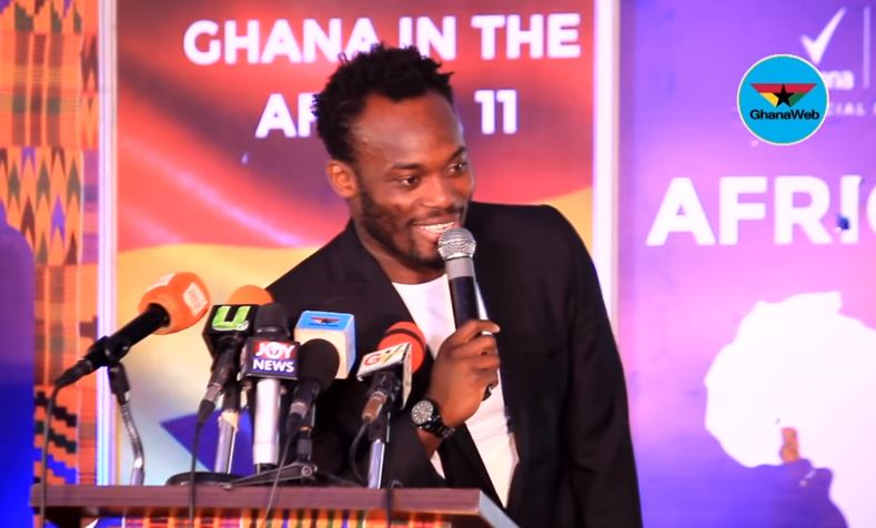 Former Chelsea star Micheal Essien becomes Brand Ambassador for 'Be the Next Champion'