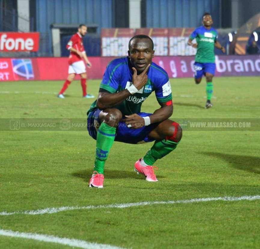 John Antwi registers fifteenth league goal for El-Masaqa in win over Al Attihad
