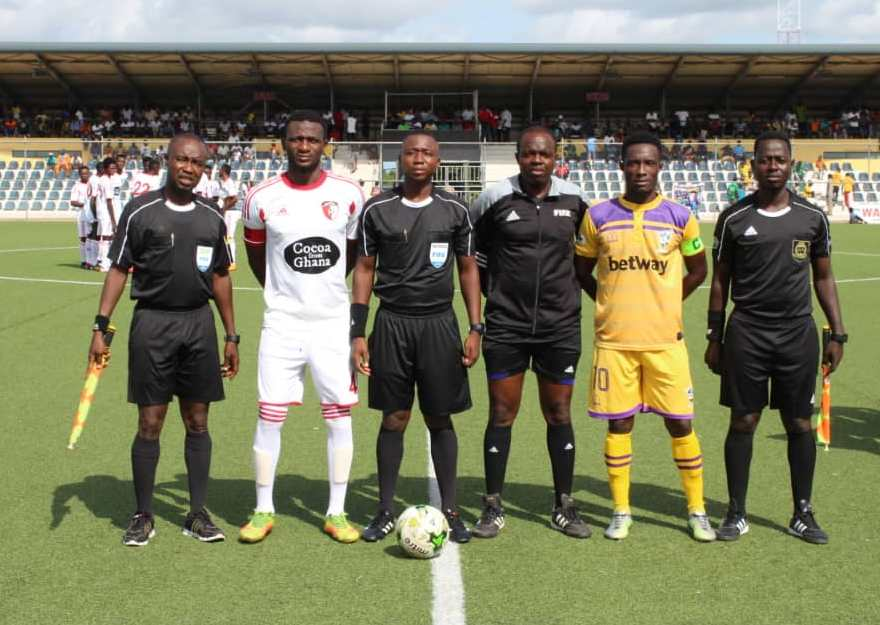 The Blind Pass: A matchday feature on the Ghana Premier League - A Record well kept and well broken