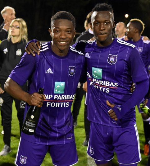 VIDEO: Prospect Osman Bukari scores and provides assist as Anderlecht thump Lokeren to win Reserve League