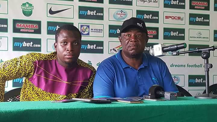 Asante Kotoko coach Samuel Fabin bemoans 'silly goal' conceded in Dreams FC defeat