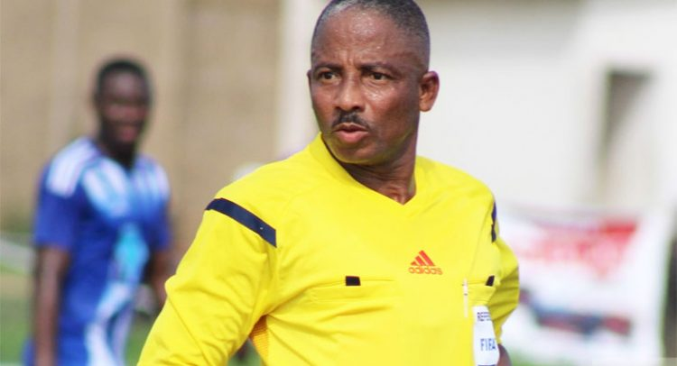Beleaguered Ghanaian referee Reginald Lathbridge dropped from CAF Confederation Cup