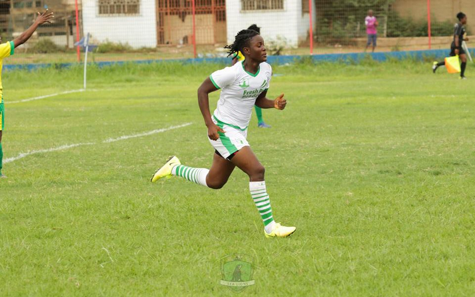 NWL: Sea Lions midfielder Elizabeth Owusua eyes goal queen award