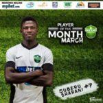 Dreams FC striker Zuberu Sharani joins Czech side AC Sparta Prague