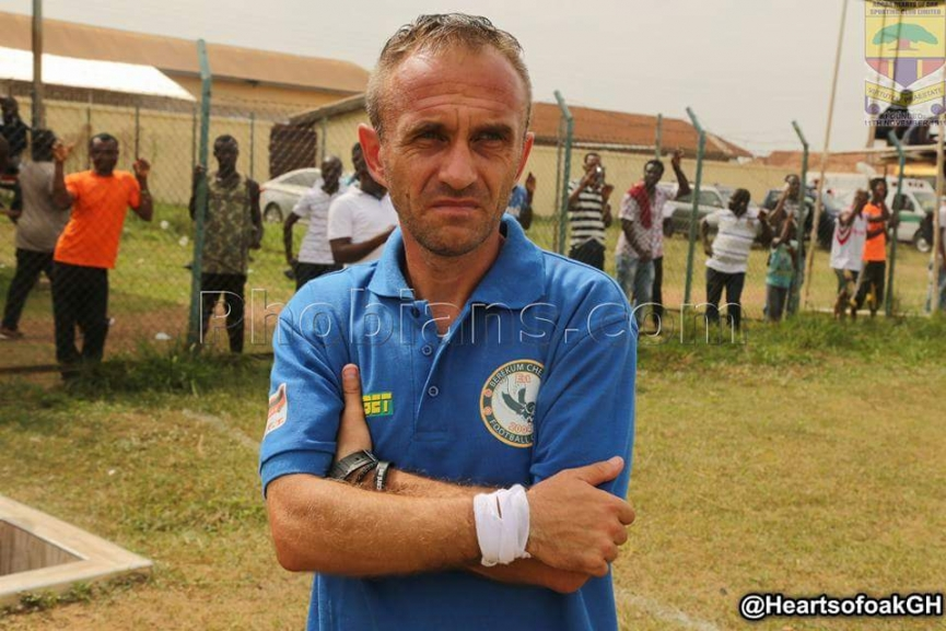 Berekum Chelsea coach Svetislav Tanasijevic predicts tough Aduana battle