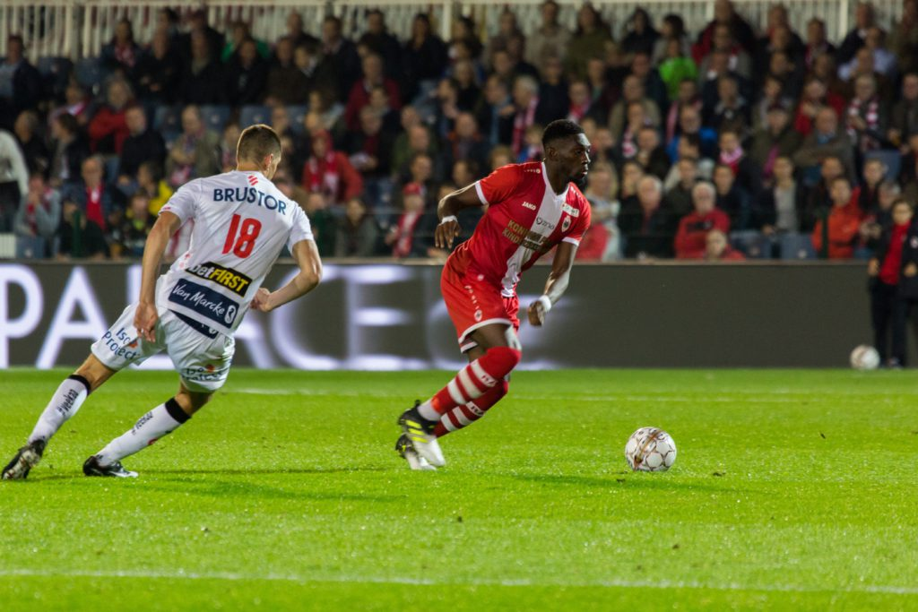 William Acheampong superb brace fires Royal Antwerp to victory against Beerschot Wilrijk