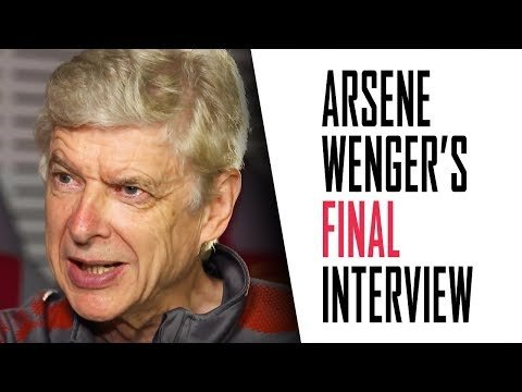 Arsene Wenger's FINAL interview | Part 1 - Highbury, winning the double, and upsetting Ian Wright