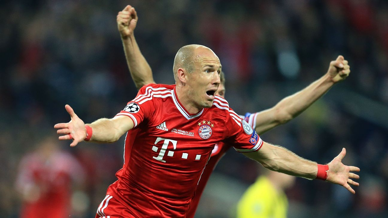 Arjen Robben signs new one-year deal with Bayern Munich