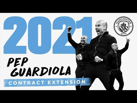 PEP GUARDIOLA CONTRACT EXTENSION