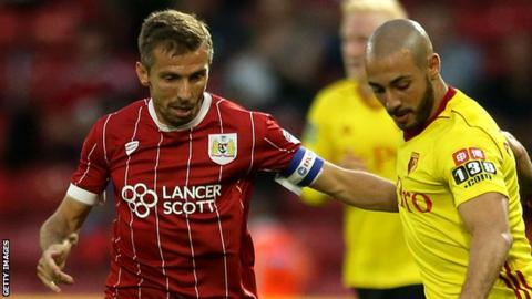 O'Neil one of four players leaving Bristol City