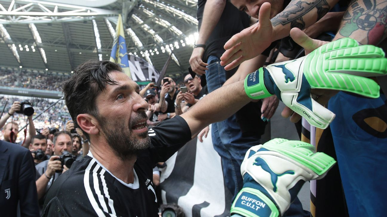 Gianluigi Buffon a perfect 10 in Juventus finale