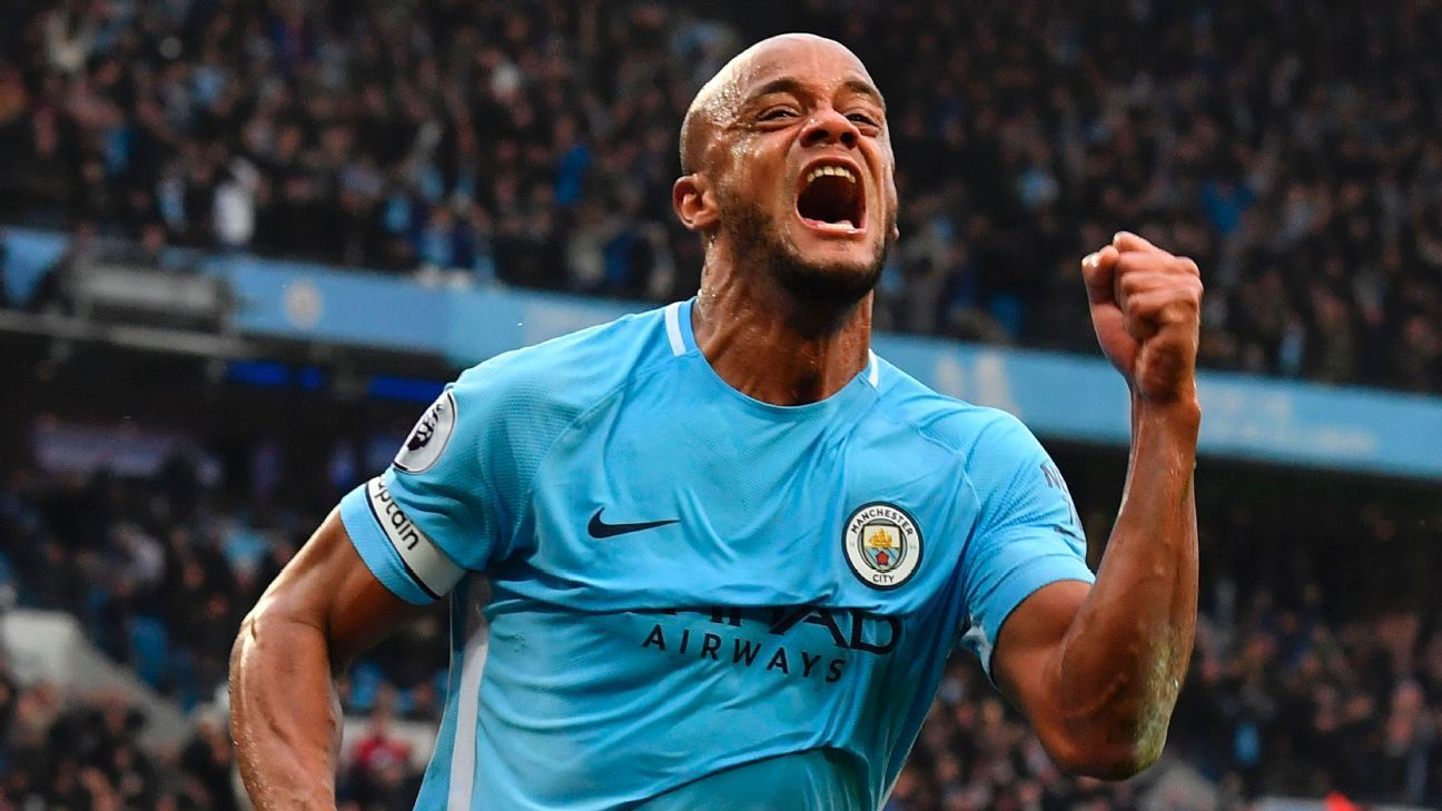 Man City's Vincent Kompany: Pep Guardiola 'intensity' can drive us to more titles