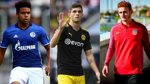 McKennie, Pulisic and Sargent in USA squad The American teenagers have all been called up to the latest senior USMNT roster. vor 2 Stunden