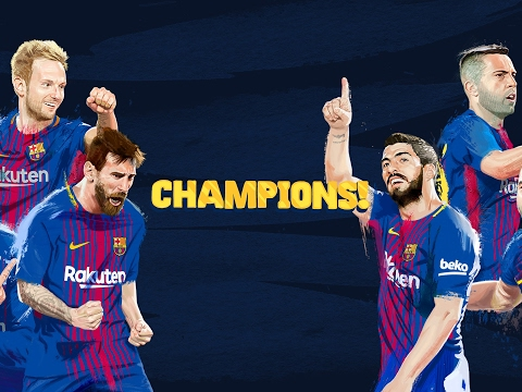 LIVE - #7heChamp10ns & farewell to Andrés Iniesta