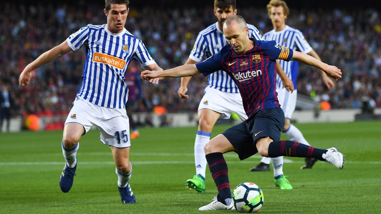 Andres Iniesta's last game for Barcelona: his final day in pictures