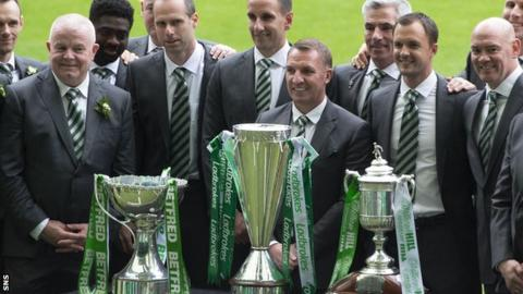 Celtic boss Rodgers 'may stay to aim for 10 titles in a row'