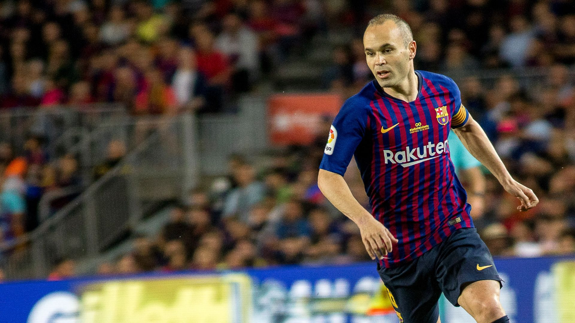 Andres Iniesta bids farewell to Barcelona: 'It's been a pleasure'