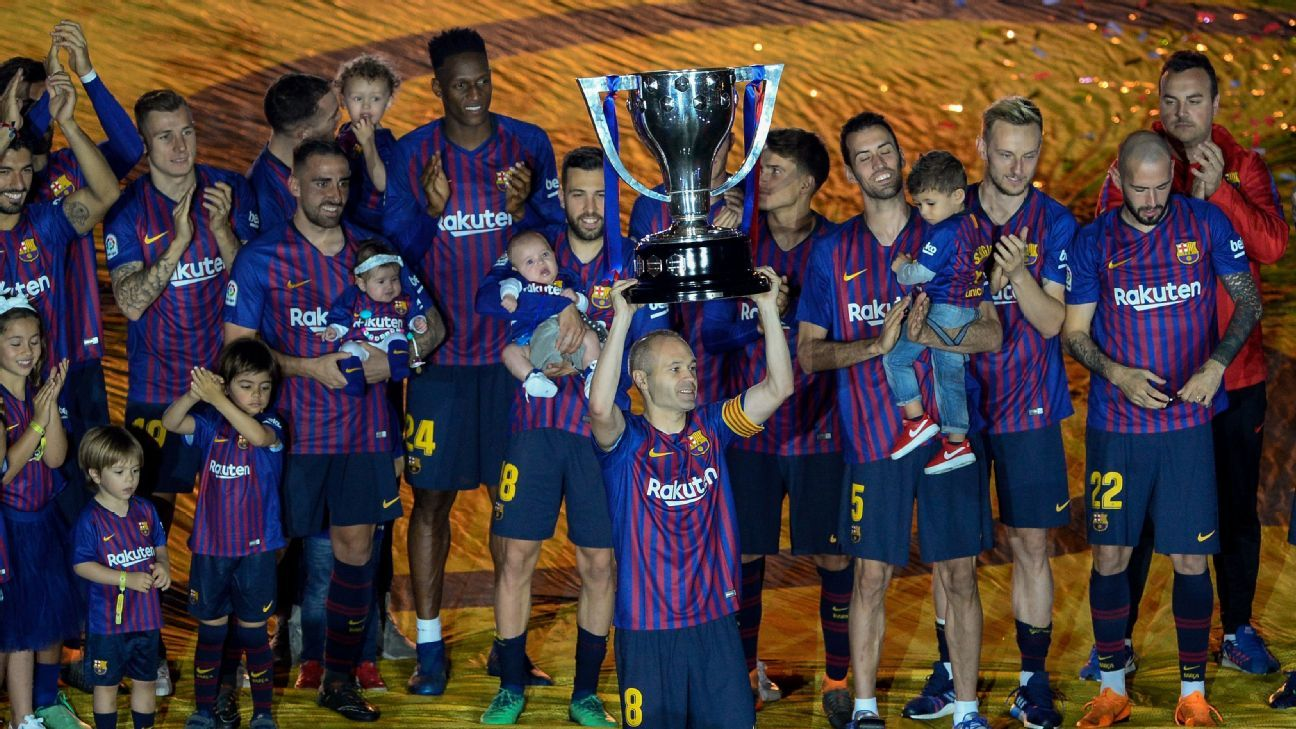Iniesta's exit, Messi magic and 'only' a double: the story of Barca's season