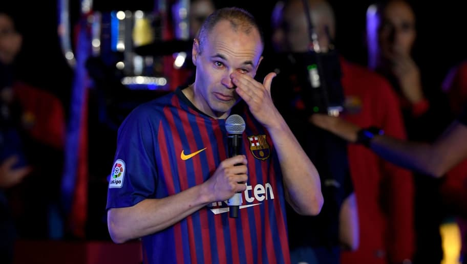 Andres Iniesta Delivers Emotional Final Speech at Camp Nou as He Bids Farewell to Barcelona