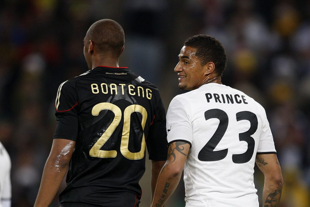 Bayern Munich v Eintracht Frankfurt: Prince Boateng laments Jerome\'s absence in DFB Pokal final
