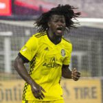 Columbus Crew defender Lalas Abuabakar not surprised by goal winning feat against New England in MLS