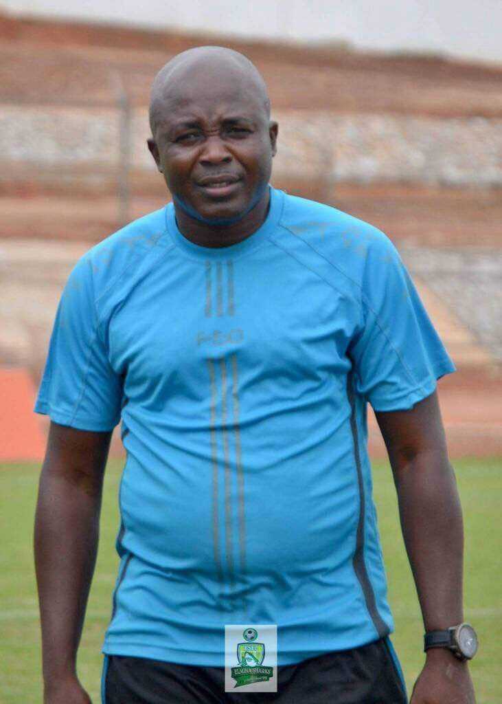 Elmina Sharks gaffer Yaw Acheampong named Coach for the month of April