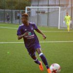 Emmanuel Adjei Sowah scores for Anderlecht U21 in Youth League