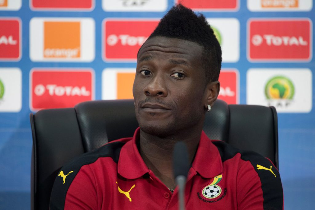 Asamoah Gyan rallies support for Black Stars ahead of friendly against Iceland today