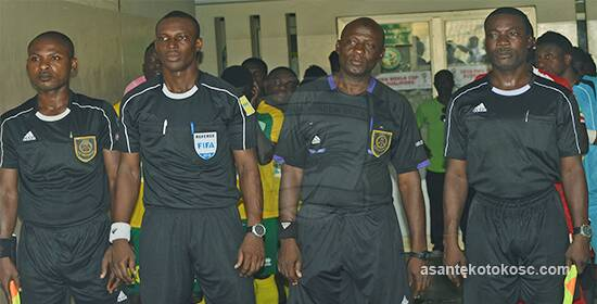 Match Review Panel exonerates referee Prosper Adii and assistant Phillip Darko for disallowing Dwarfs a penalty in Kotoko clash