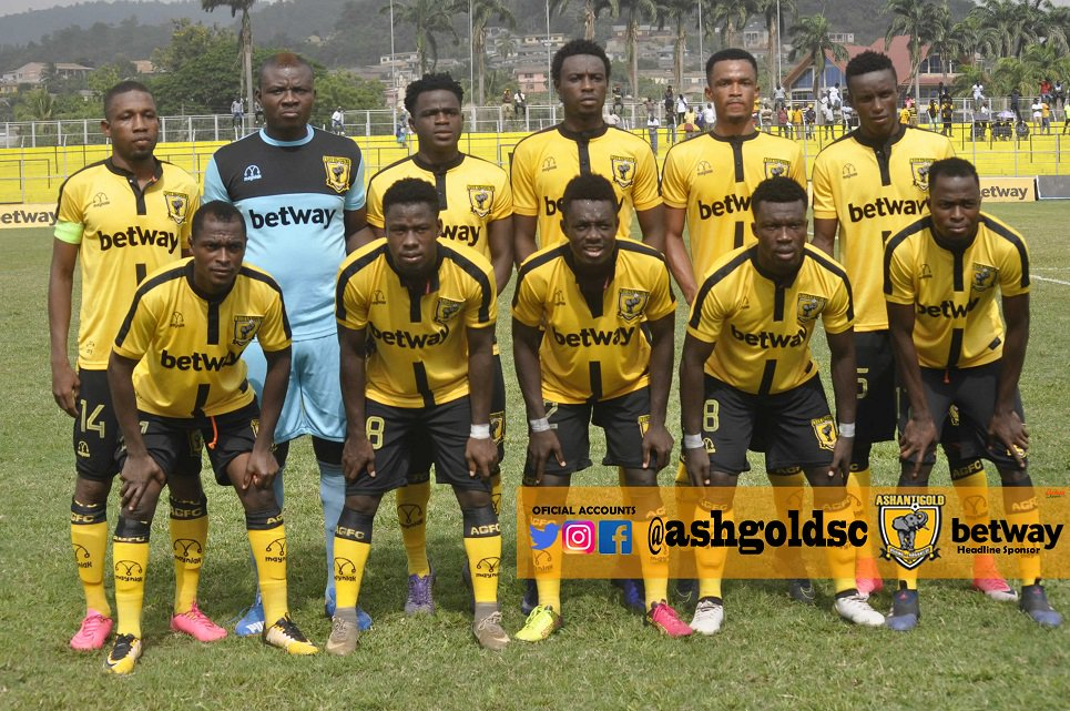 AshantiGold set to replace Hearts of Oak for J.A Kufuor Cup match against Kotoko