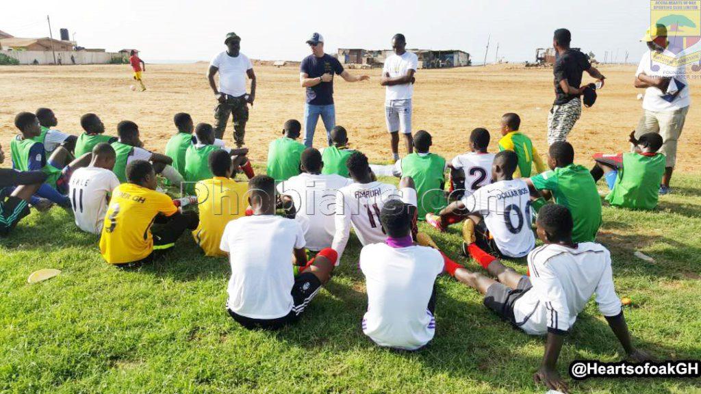 Hearts of Oak resume training after five-day break