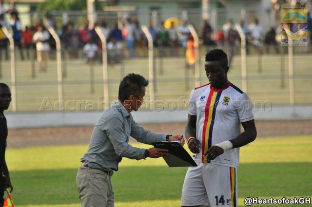 Cosmos Dauda hopeful of a Hearts return in future